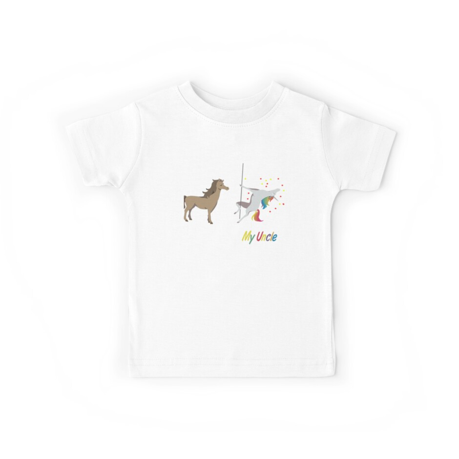 Your Uncle My Uncle Unicorn T-shirt by daniele2016