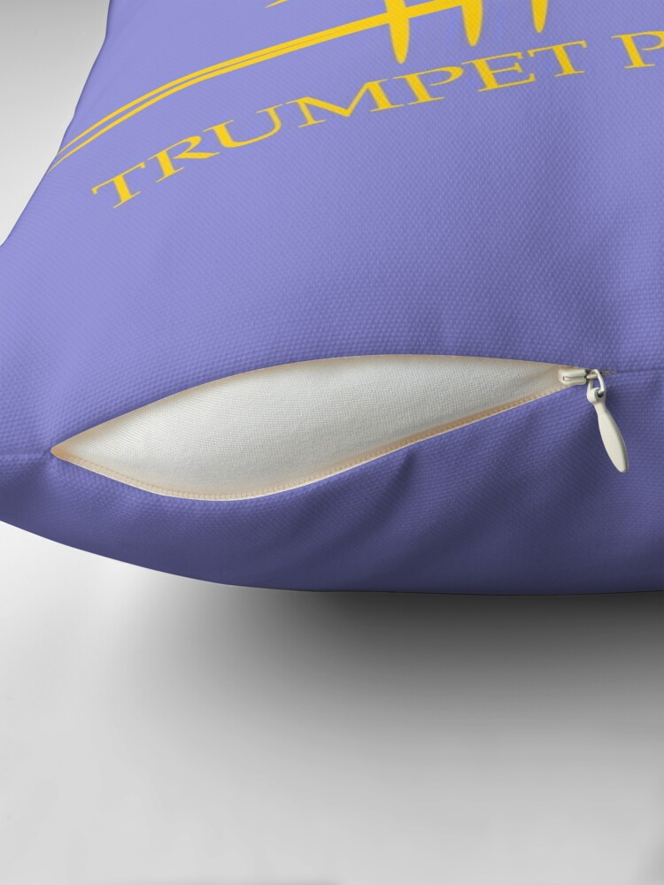 Alternate view of Trumpet Planet Logo Floor Pillow