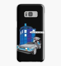 Time Travel Jump Start Samsung Galaxy Case/Skin