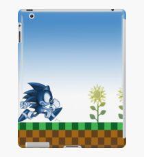 Sonic (Blue)  iPad Case/Skin