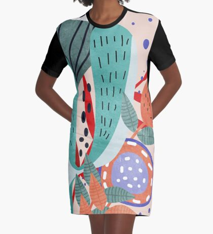 Creature Graphic T-Shirt Dress