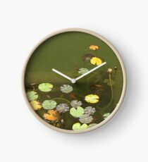 lily pads Clock