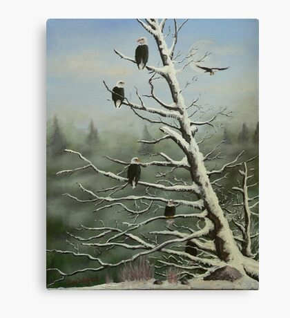 Birds of a feather... Canvas Print