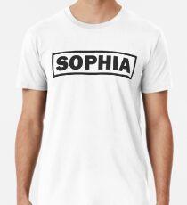 Lettering SOPHIA Men's Premium T-Shirt