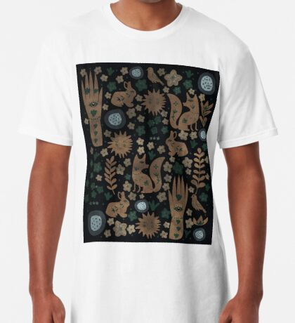 Nightlife Elements Long T-Shirt