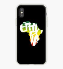 Ethiopia in Africa - White iPhone Case