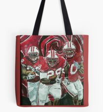 Rose bowl Badgers Tote Bag
