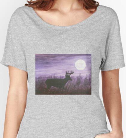 Moon light walk Women's Relaxed Fit T-Shirt