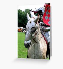 A horse, a horse, my kingdom for a horse Greeting Card