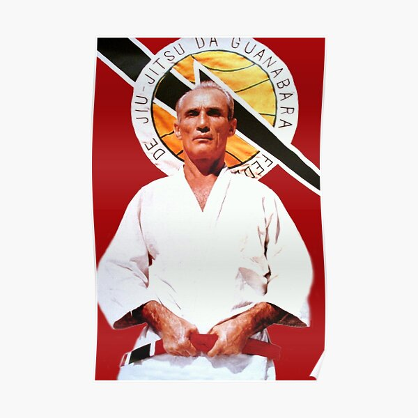 Helio Gracie - Famed Brazilian Jiu-jitsu Grandmaster Poster