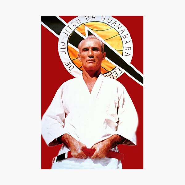 Helio Gracie - Famed Brazilian Jiu-jitsu Grandmaster Photographic Print