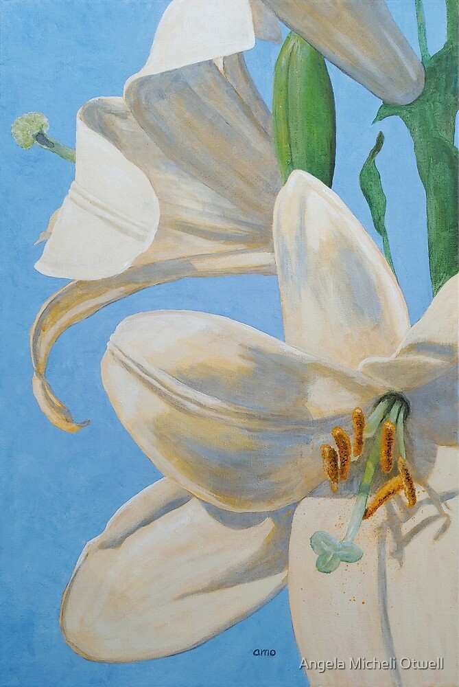 Lilies, Considered by Angela Micheli Otwell