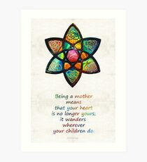 Mother Mom Art - Wandering Heart - By Sharon Cummings Tote Bag by Sharon Cummings Art Print