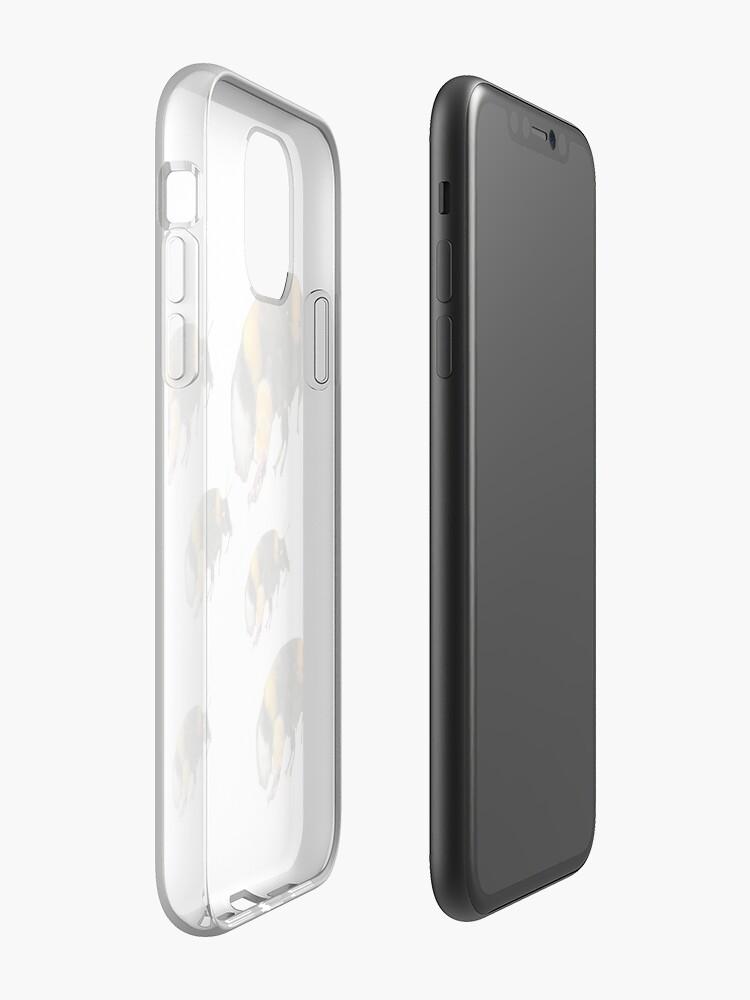 Coque iPhone «Bourdon Stoopid», par RobTv