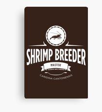 Shrimp Breeder - Master Canvas Print
