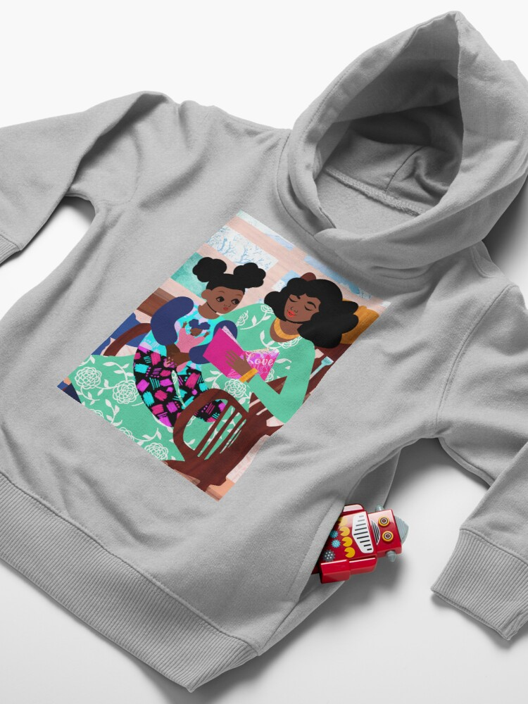 Alternate view of Rocking Chair Toddler Pullover Hoodie