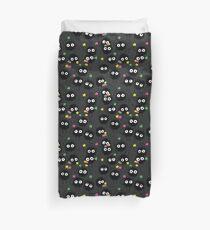 Rußmännchen mit Zuckersternen Ghibli Pattern Bettbezug