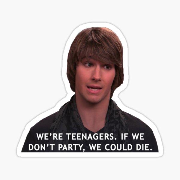 If We Don't Party, We Die- BTR Sticker