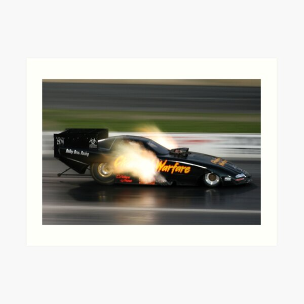 Drag Racing at Kwinana Motorplex Art Print