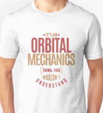 Orbital Mechanics Unisex T-Shirt