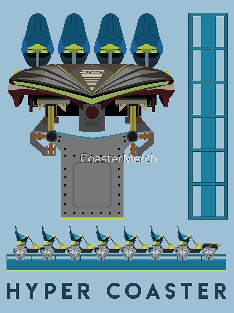 Fury 326 Rollercoaster Design - B&M Hyper Coaster by CoasterMerch