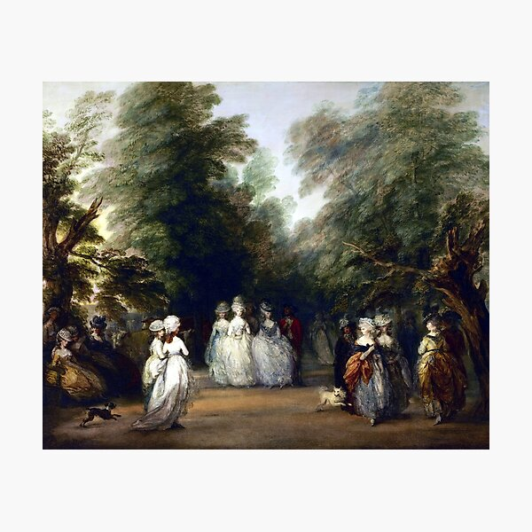 Thomas Gainsborough The Mall in St. James's Park Photographic Print