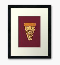 Comfort Food Framed Print