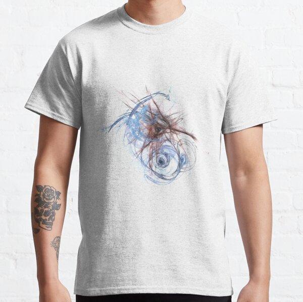 Fractal Blues Classic T-Shirt