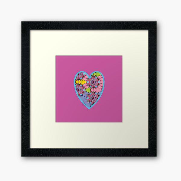 Happy Valentines Day - 1 Framed Art Print