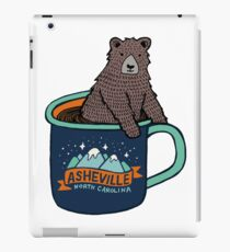 Asheville Bear Cup iPad Case/Skin