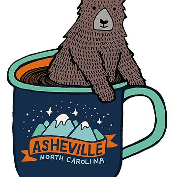Asheville Bear Cup by annieriker