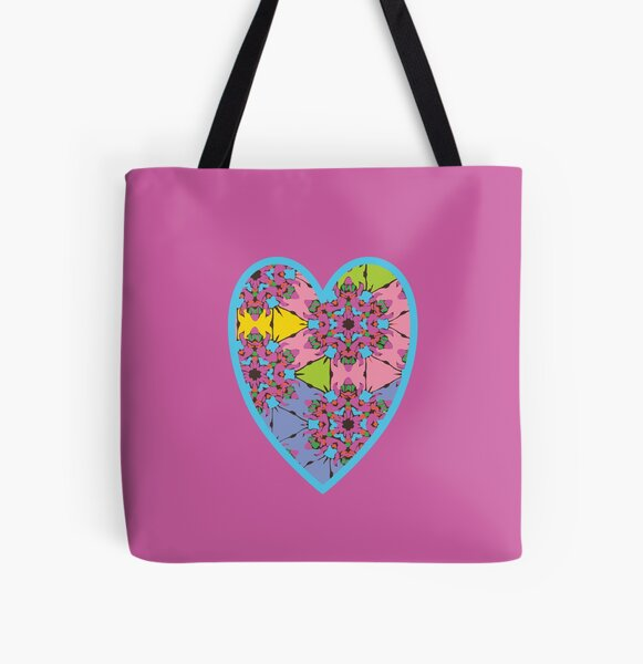 Happy Valentines Day - 1 All Over Print Tote Bag