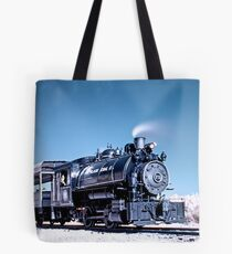 Flagg Coal Steam Engine HDR/IR Tote Bag