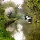 Spring time on the canal by Brett Trafford
