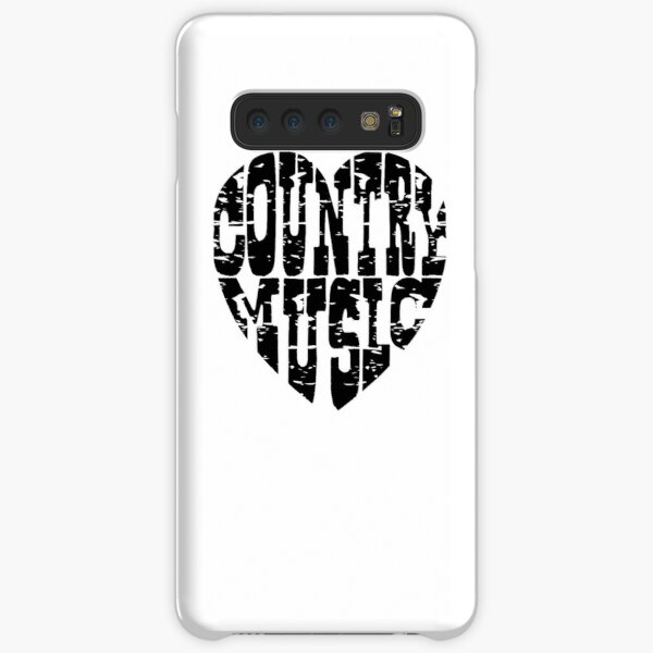 I Love Country Music Lovers T Shirt And Accessories, Country Music Lover Shirt, Sticker, Mugs, Bags Samsung Galaxy Snap Case