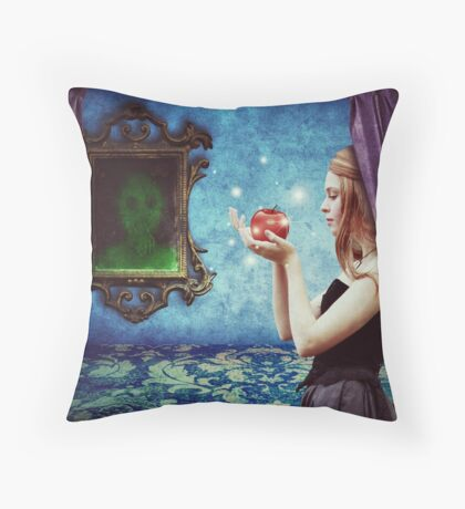 The fairest of them all Throw Pillow