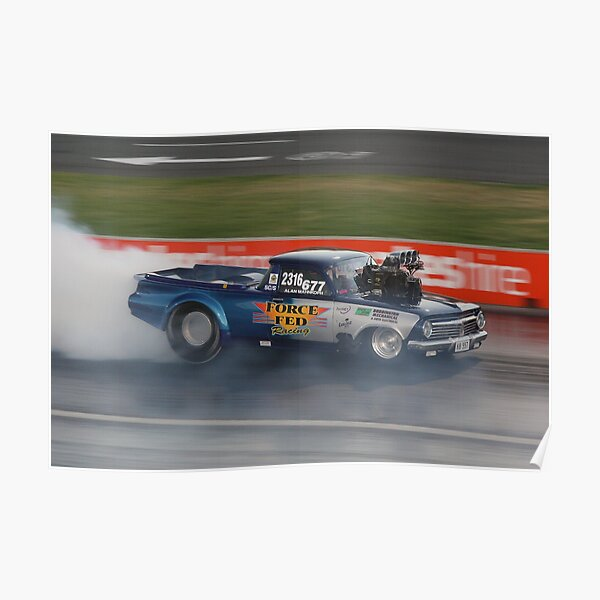Drag Racing at Kwinana Motorplex Poster