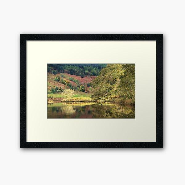 Dubh Loch Crannog Framed Art Print