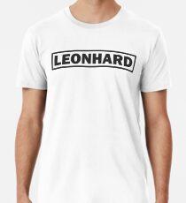 Lettering LEONHARD Men's Premium T-Shirt