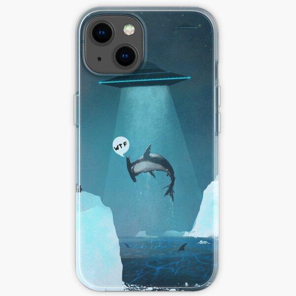 ufo shark iPhone Soft Case