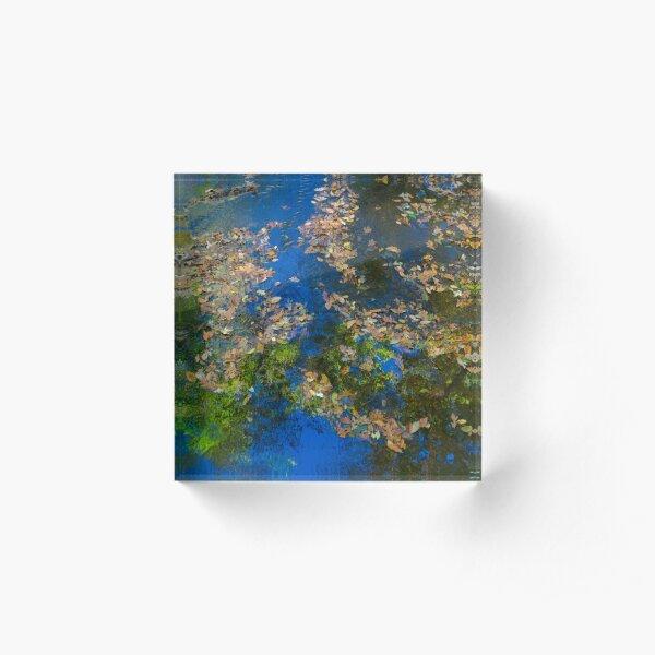 impressionism stream Acrylic Block