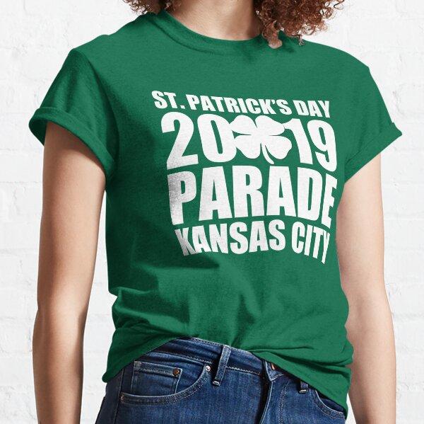 Kansas City St. Patrick's Day 2019 Parade Shamrock T-Shirt Classic T-Shirt