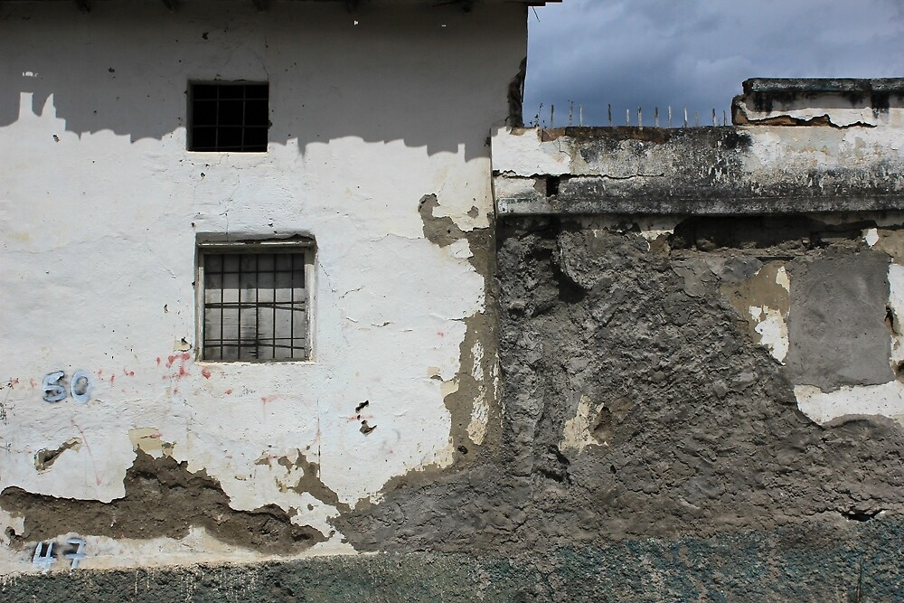 Windows in a Concrete Wall by rhamm