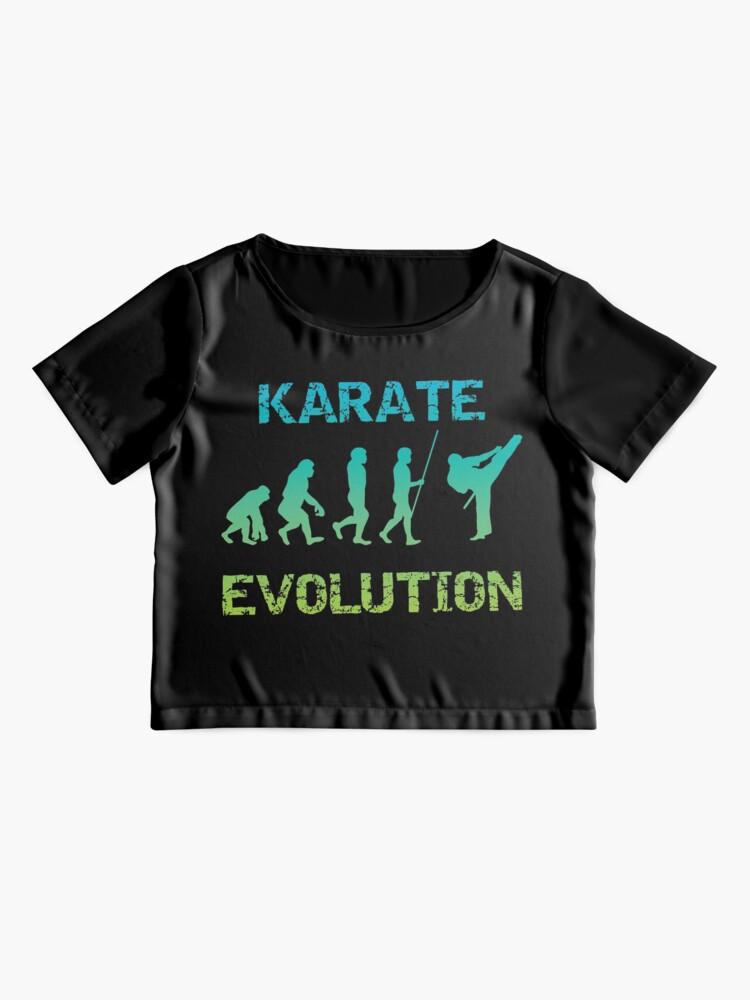 Alternative Ansicht von Karate Evolution Kampfsport Chiffon Top