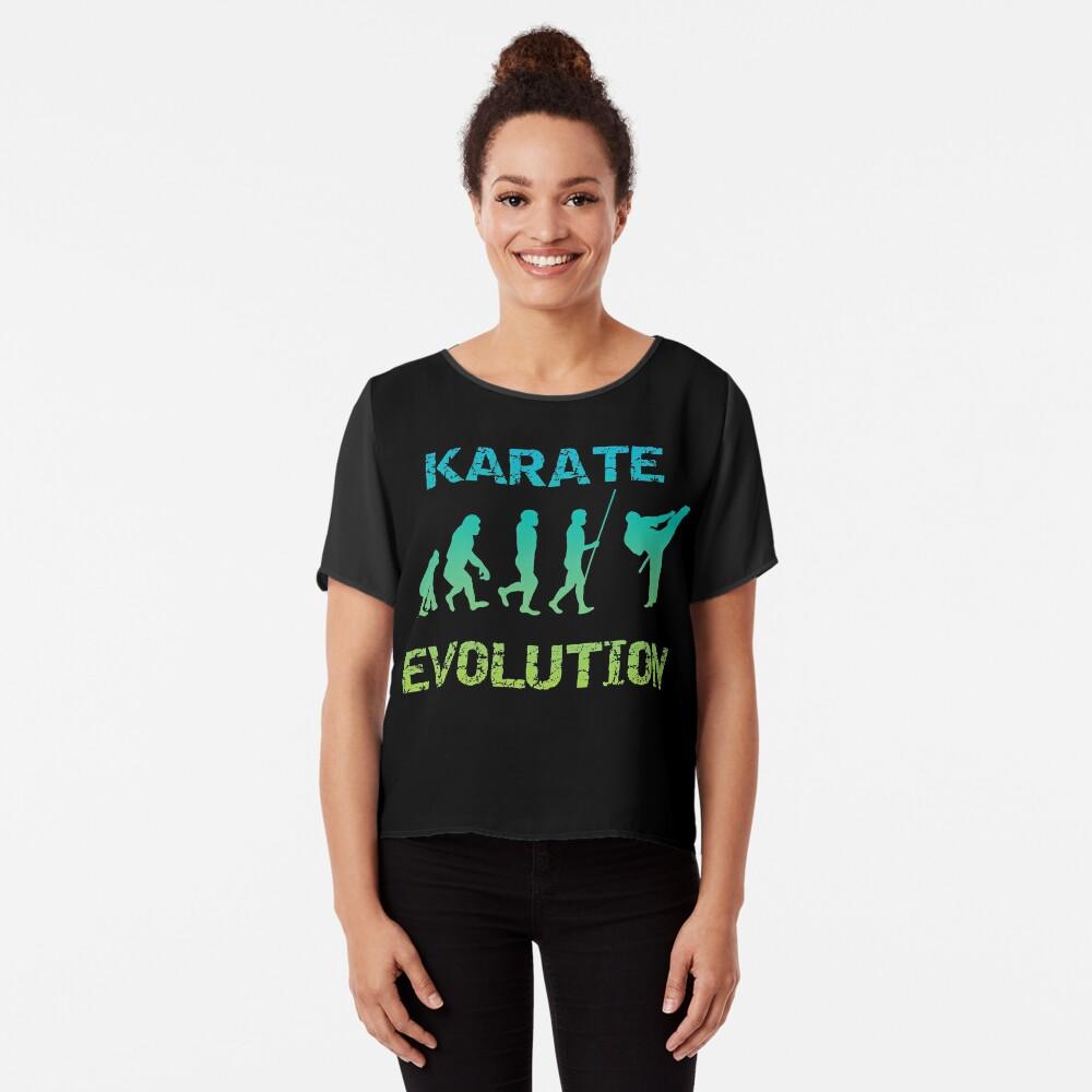 Karate Evolution Kampfsport Chiffon Top