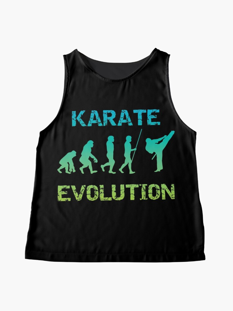 Alternative Ansicht von Karate Evolution Kampfsport Ärmelloses Top