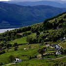 Abriachan, Inverness-shire, overlooking Loch Ness by BronReid