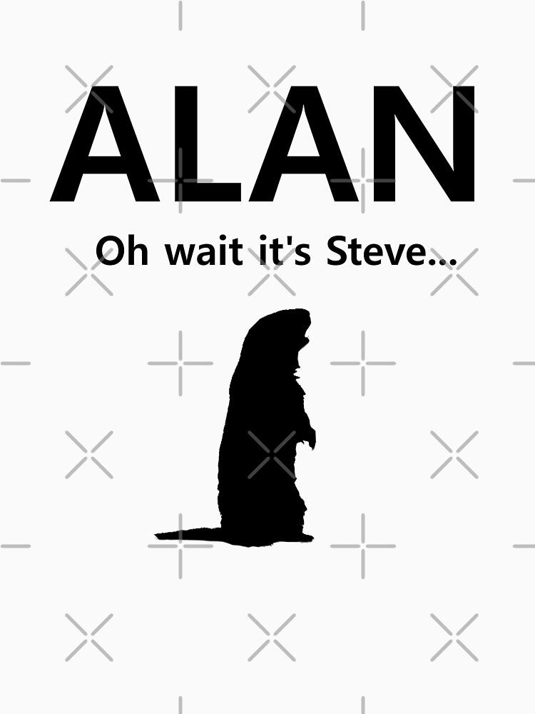 Tshirtgifter Presents Alan Unit Shirt