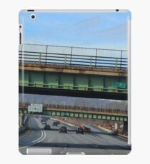 Driving Through Staten Island iPad Case/Skin