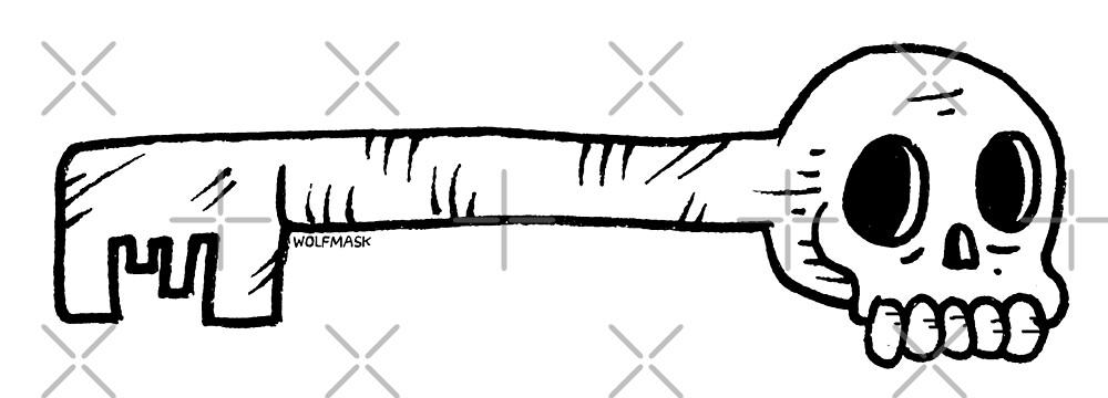 Skeleton Key by wolfmaskart
